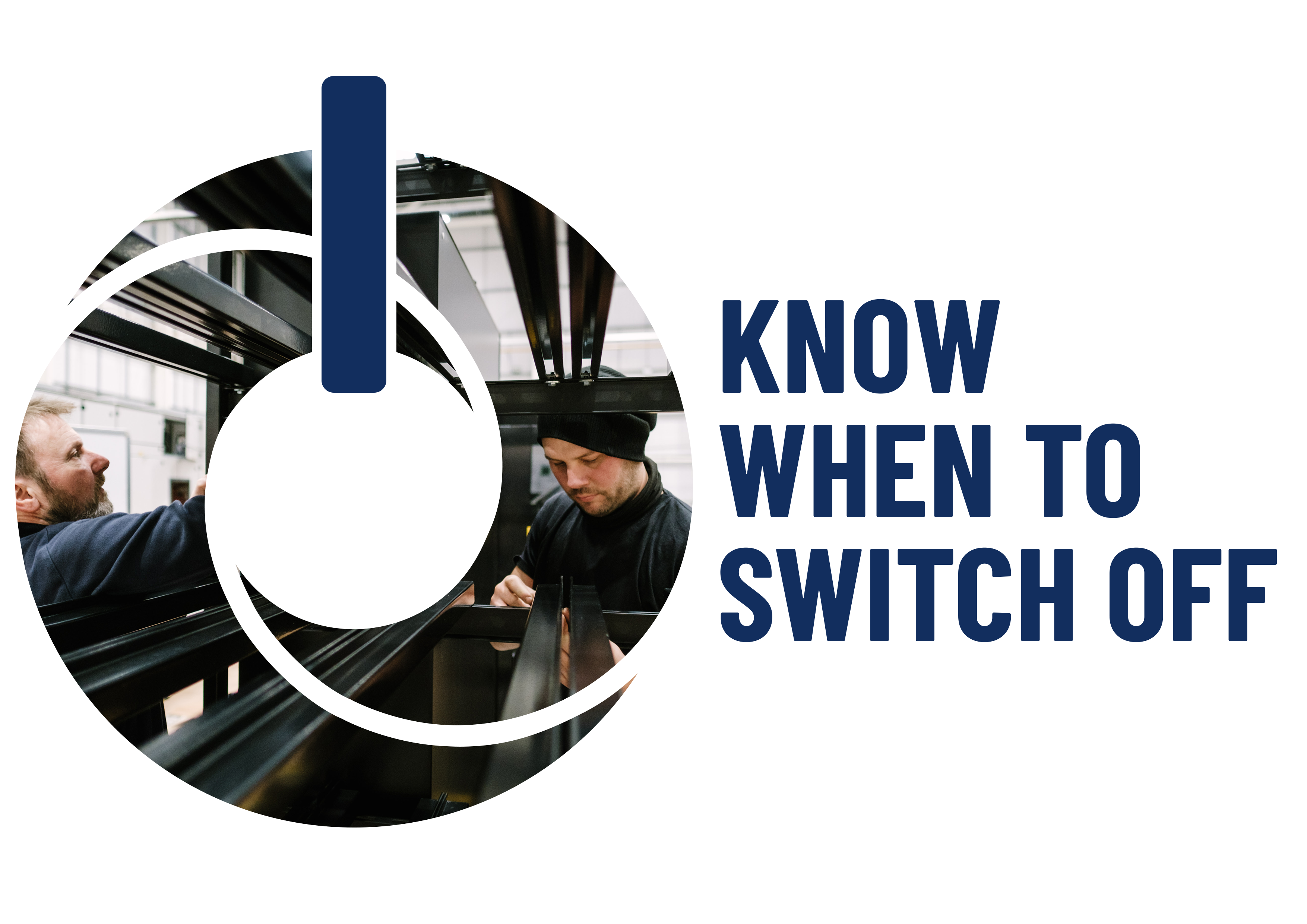 Know when to switch off finished